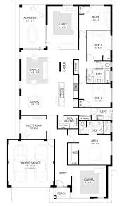 single story 4 bedroom house plans 5 bedroom house plans single story perth nrtradiant