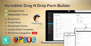 incredible contact form with mailchimp by e plugins codecanyon