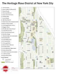 Walking Map Of New York City by Heritage Rose District Of New York City Wikipedia
