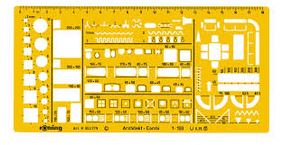 technical drawing templates u0026 stencils from rotring u0026 linex