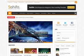 sahifa template for blogger free download free blogger templates