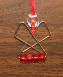 paperclip ornaments paper clip ornaments crafts
