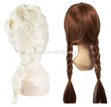 new arrival frozen elsa wig for snow queen elsa wig with