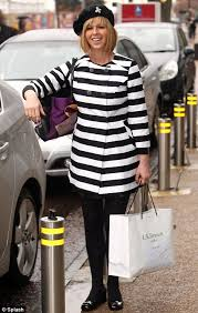 kate garraway makes fashion faux pas by dressing like french onion