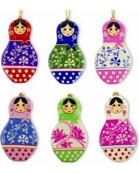 deal alert 4 5 set of 6 matryoshka russian nesting dolls wooden