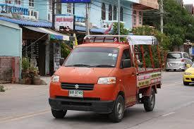 suzuki pickup file suzuki carry pickup truck in thailand jpg wikimedia commons