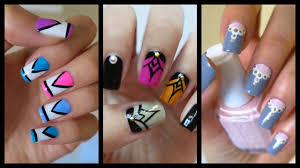 nail art nail art easy beautiful christmas ideas to do finger