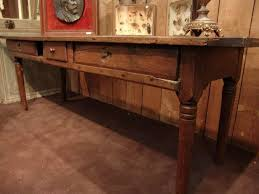 Antique Console Table 18th Century Antique Console Table In Solid Chestnut Sold