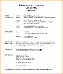 Resume Templates For Word 2007 by Free Resume Templates Microsoft Office Word 2007 Professional