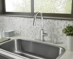 Moen Chrome Kitchen Faucet Nori Chrome One Handle High Arc Pulldown Kitchen Faucet 87066
