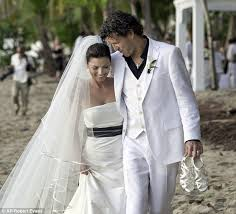 blog celebrity wedding dresses beach edition