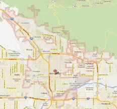 san bernardino ca map san bernardino california map