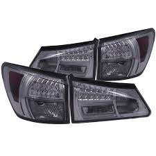 lexus is 250 headlights 2006 anzo usa lexus is250 350 06 08 l e d tail lights smoke l e d