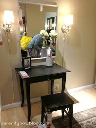 bedroom enchanting makeup vanity set ikea with drawers and stools