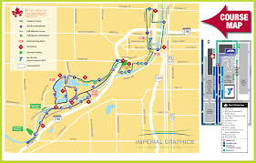 Map Of Grand Rapids Michigan by Course Maps Grand Rapids Marathon