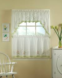 stylish and modern kitchen window curtain ideas