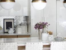 modern tile backsplash ideas for kitchen 30 trendiest kitchen backsplash materials hgtv