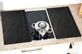 copertura piano cottura mq 2 x coperture di vetro herdabdeckplatte herdabdeckung piano