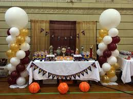 basketball party table decorations cleveland cavaliers basketball party cavs birthday party