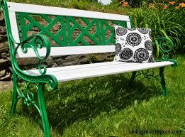 outdoor bench makeover u2013 vintagemeetsglam