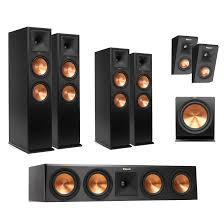 klipsch home theater klipsch rp 280f ebony dual 8 inchs floor standing speaker each
