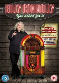 billy connolly you asked for it dvd amazon co uk billy
