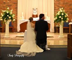 Wedding Flowers Church Wedding At Incarnation Catholic Church With Reception At Field