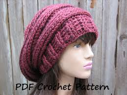 Crochet Patterns For Home Decor Good Slouchy Beanie Crochet Pattern For Beginners 81 With