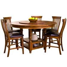 round table with lazy susan built in distinct rustic round dining table with built in lazy susan for
