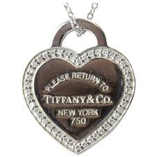 heart tag necklace tiffany images Tiffany and co diamond gold please return to tiffany heart tag jpg