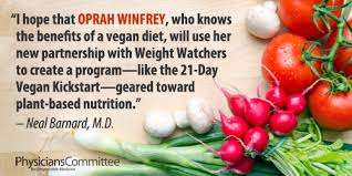 oprah effect u0027 should promote plant based diet the physicians
