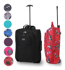 5 cities 55cm lightweight trolley hand luggage cabin bag luggage