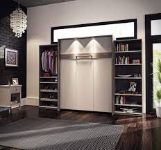 Murphy Bed Jefferson Library The New Cielo Queen Size Wall Bed And 2 Storage Units Offers