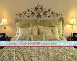 Headboard Wall Decor by Headboard Decal Etsy