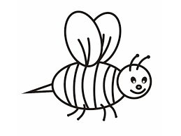 coloring bee coloring page