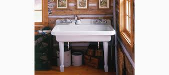 cast iron laundry sink bathroom great kohler utility sink for a variety of cleaning tasks
