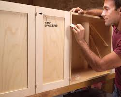 How To Install Cabinet Doors by Modular Shop Cabinets Popular Woodworking Magazine