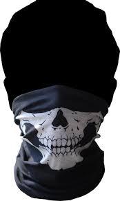 new skeleton ghost skull face mask biker balaclava costume