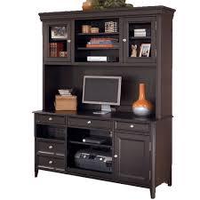 carlyle home office credenza and tall hutch u2013 jennifer furniture