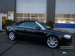 audi a4 2007 convertible 2007 audi a4 cabriolet 2 7 tdi multitronic pro line exclus car