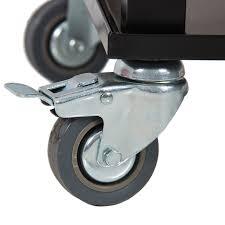 Outdoor Cooler Cart On Wheels by Patio Deck Cooler Rolling Outdoor 80 Quart Solid Steel
