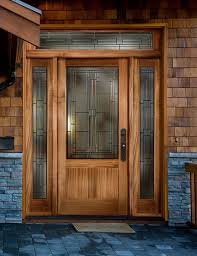innovative decorative glass panels for front doors decoration