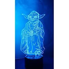 3d Lamps Amazon Huiyuan Desk Lamp 3d Star Wars 7 Colors Change Touch Switch Table