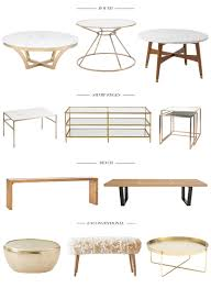 Zara Home Side Table 11 Coffee Tables For A Chic Living Room Hazel Scout