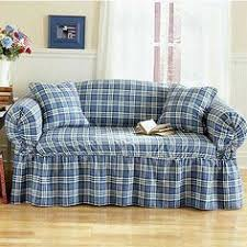Quilted Microfiber Total Furniture Cover With Ties Sofa Covers - Sofa cover designs