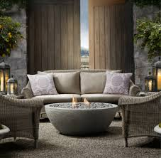 Restoration Hardware Fire Pit by Patio Courtney Out Loud
