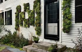 How To Make Vertical Garden Wall - outdoor living natural home with facade vertical garden outdoor