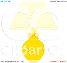 Yellow Table Lamp Yellow Table Clipart Clipartfest