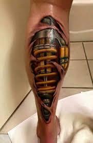 tattoo 3d mechanical pin by scott stahley on tattoo ideas pinterest tattoo tattoo