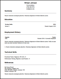 Build Your Resume Online Free by Free Resume Builder Best Free Resume Builder Build Your Resume